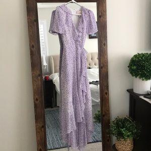 Gal Meets Glam lavender maxi StitchFix exclusive